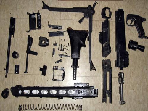 M-53 (Mg-42) Spare Parts Set
