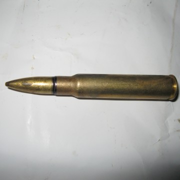 7.7 Jap. semi-rimmed, Armor Piercing machine gun ammo.