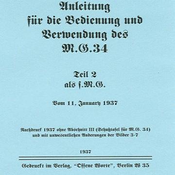 Mg34 manual Volume 2