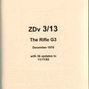 Rifle G3 Operator's Manual