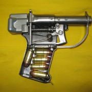 Liberator cut-a-way training model.
