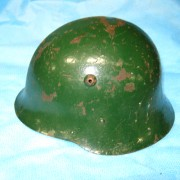 Bulgarian WW2 steel helmet