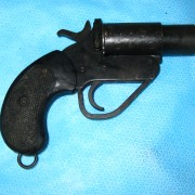 British Flare Gun Short Barrel