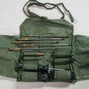 Swiss machine gun and rifle cleaning kit