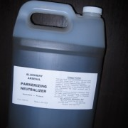 EXTRA GALLON Parkerizing NEUTRALIZER Parkerize