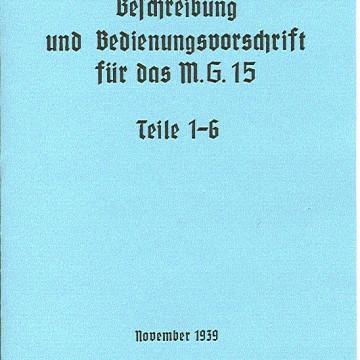 MG-15 Operators Manual